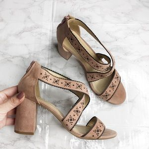 Chinese Laundry Strappy Block Heel